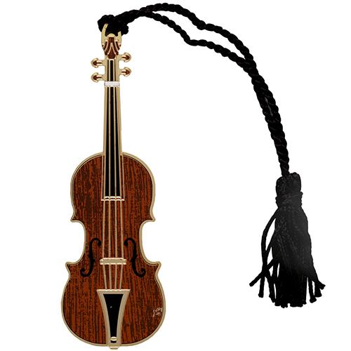 Violin Bookmark