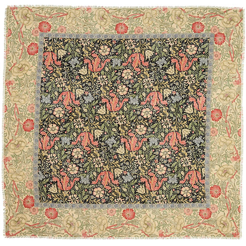 """William Morris """"Compton"""" Square Scarf"""