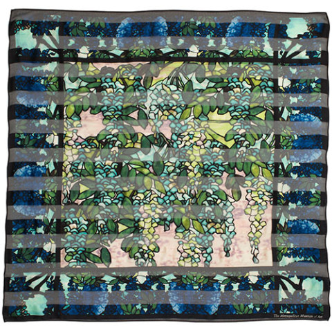 Louis Comfort Tiffany View of Oyster Bay Neckerchief