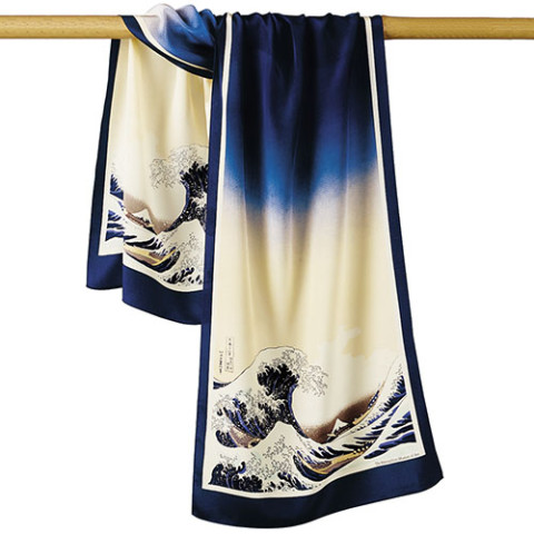 Hokusai Great Wave Scarf