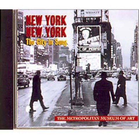 NEWYORK NY CITI IN SONG CD