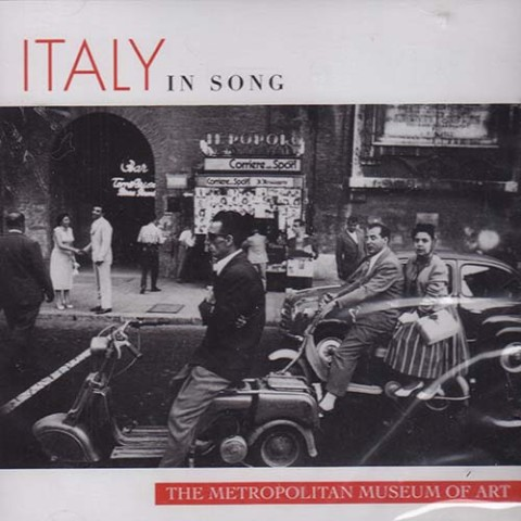 ITLAY IN SONG CD