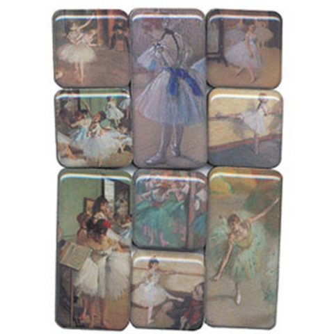 Degas's Ballerinas Museum Magnets
