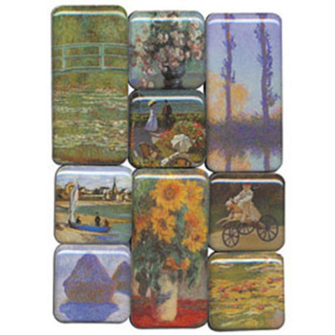 Monet Museum Magnets