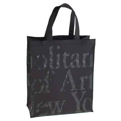 "Large Logo Bag-Black On Black - (14 1/2"" H X 12 1/8"" W)"