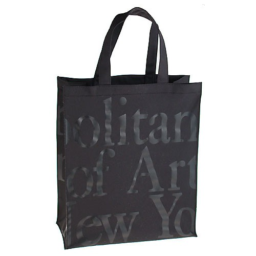 "Large Logo Bag-Black On Black - (14 1/2"" H X 12 1/8"" W)"