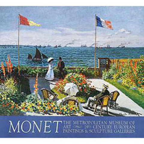 MONET: Garden at Sainte-Adresse
