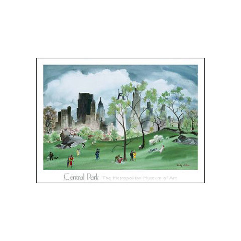 Adolf Dehn: Spring in Central Park Poster