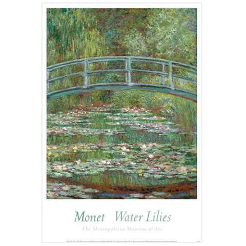 MONET: Bridge over Pool of water Lilies