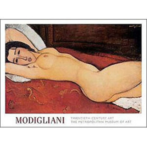 Amedeo Modigliani: Reclining Nude Poster