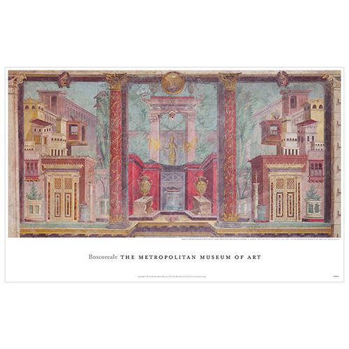 Boscoreale Fresco Poster
