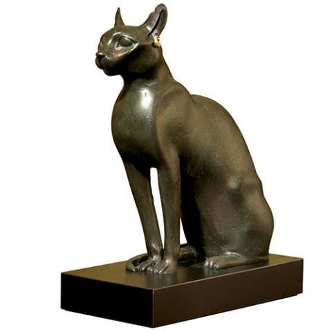 Egyptian Cat Sculpture