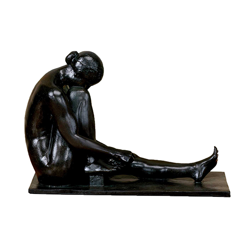 Woman Bathing Sculpture
