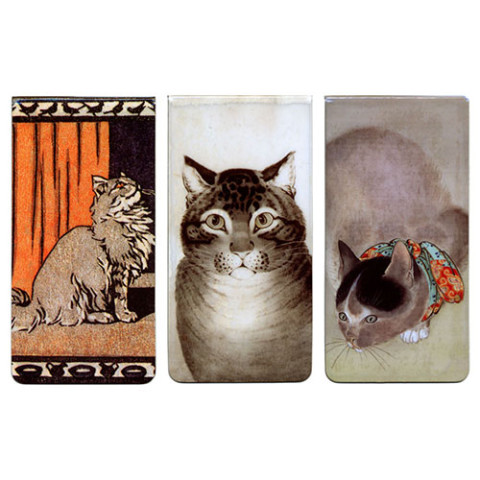 Cats Magnetic Bookmarks