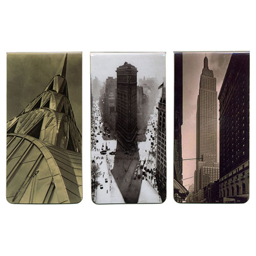 NYC LANDMARKS MAGNETC BOOKMARKS