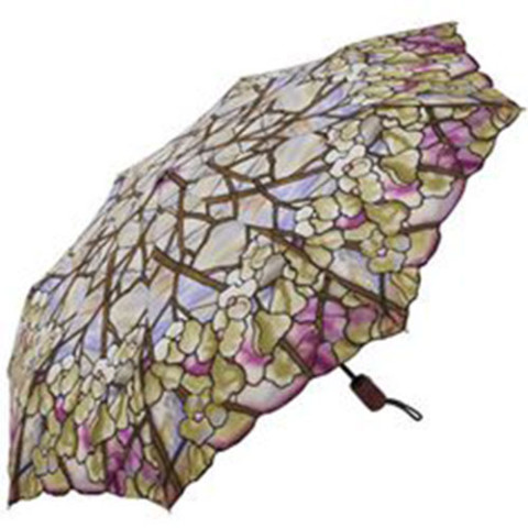 Louis Comfort Tiffany Magnolias Umbrella