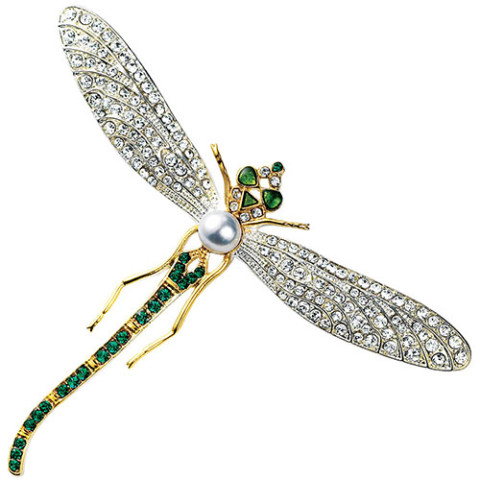 Russian Dragonfly Pin