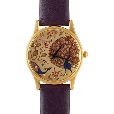 Mughal Peacock Watch