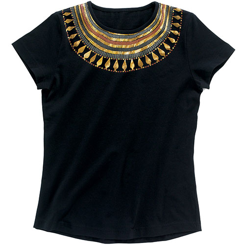 Egyptian Collar Slim Fit Top/XL