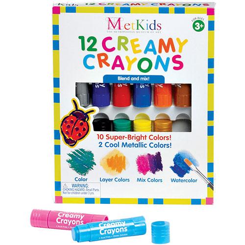 Metkids Creamy Crayons - 12