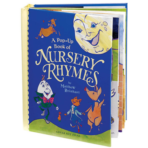 Nursery Ruymes Pop Up Book