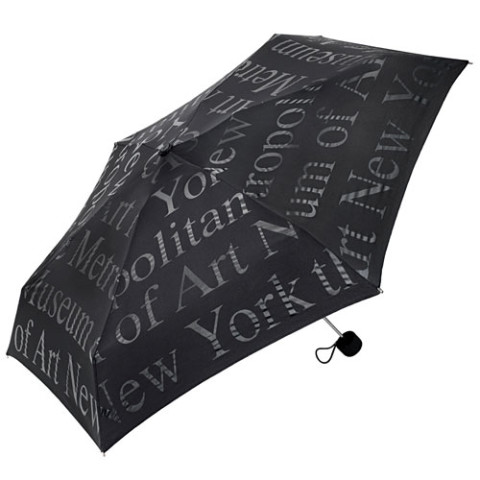 Metropolitan Museum of Art Mini Folding Umbrella