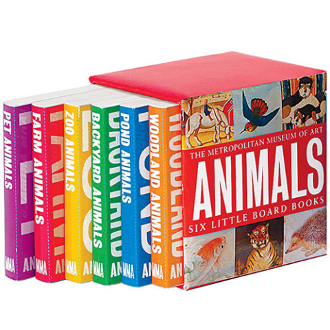 ANIMAL BOARD BOOKS (SET OF 6)