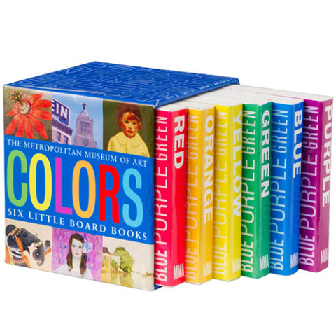 COLORS BOARD BOOKS (SET OF 6)