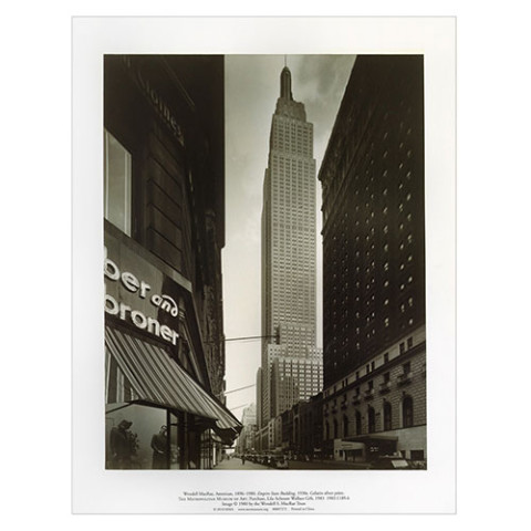 NEW YORK IN PHOTOGRAPHS PRINT PORTFOLIO