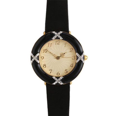 Russian Imperial Guilloché Frame Watch