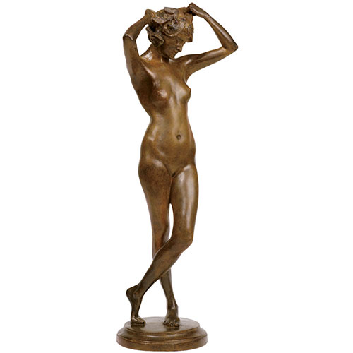 Edmond Thomas Quinn: Figure of a Nymph Sculpture