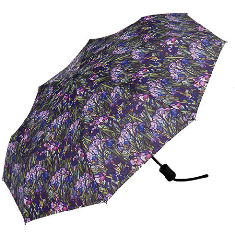 Louis Comfort Tiffany Irises Umbrella