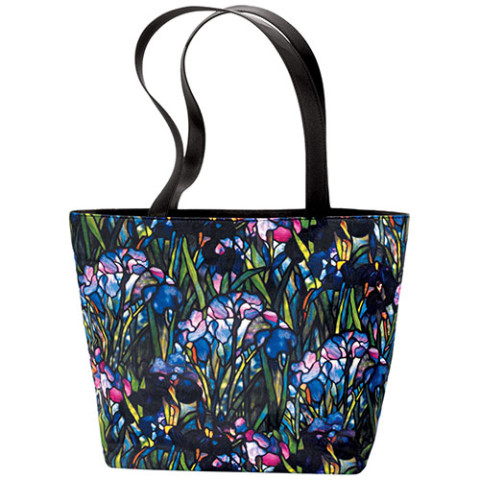 Louis Comfort Tiffany Irises Reversible Tote