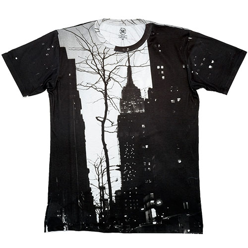 Fifth Avenue at Night Unisex Tee/L