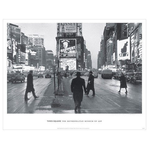 Rudy Burckhardt: Times Square Poster