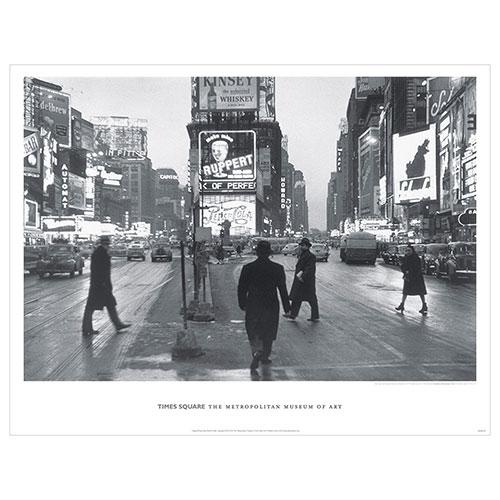 Rudy Burckhardt: Times Square Poster