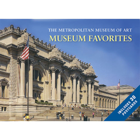 MUSEUM FAVORITES POSTCARD BOOK