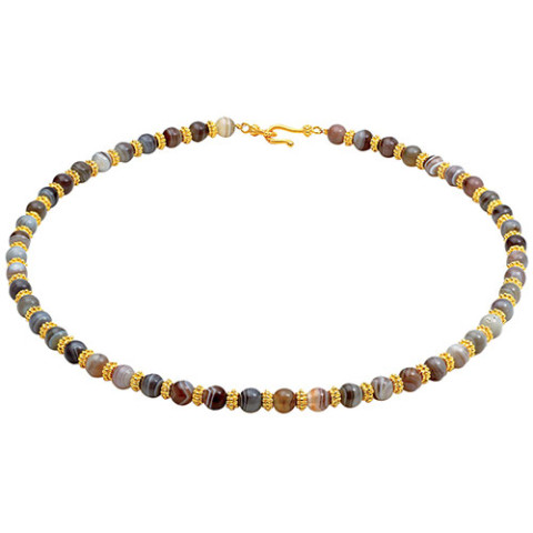 Hellenistic Agate Bead Necklace