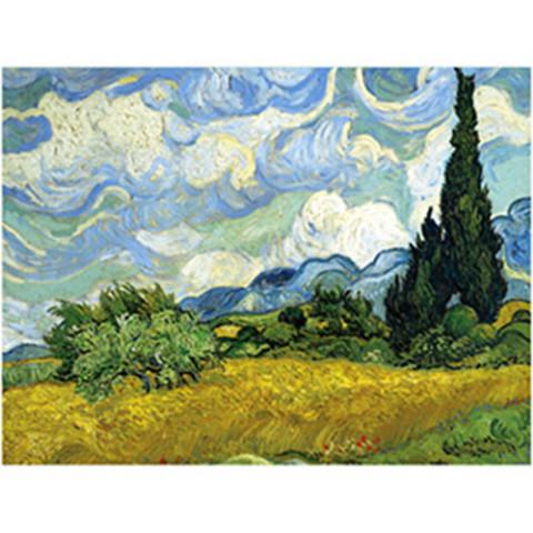 MMA Van Gogh Wheat Cypr Puzzle