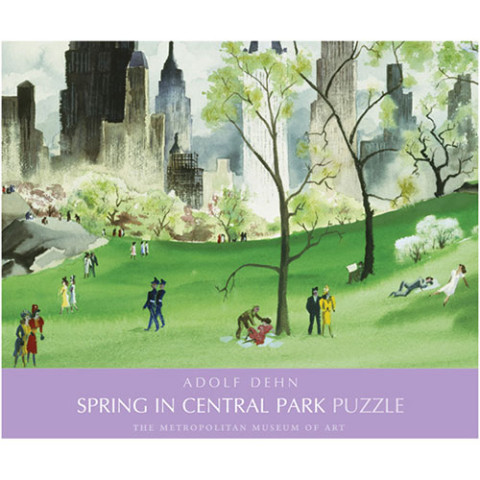 MMA Spring Central Park Puzzle