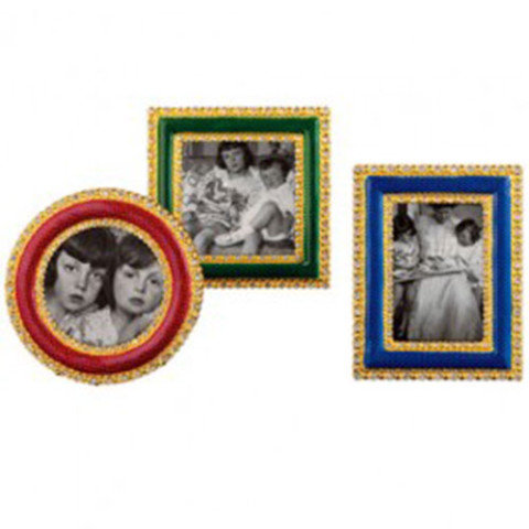 Russian Imperial Jeweled Miniature Frames (set of 3)