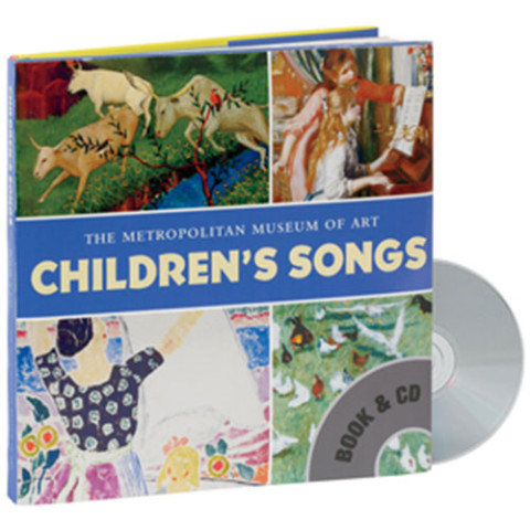 CHILDREN'S SONGS BOOK AND CD