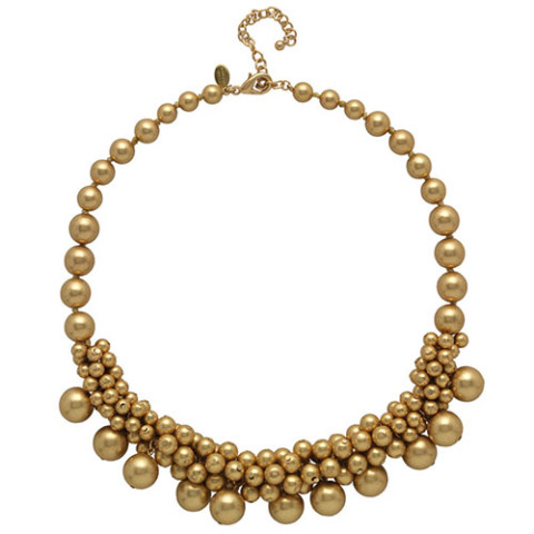 Indian Bead Cluster Necklace