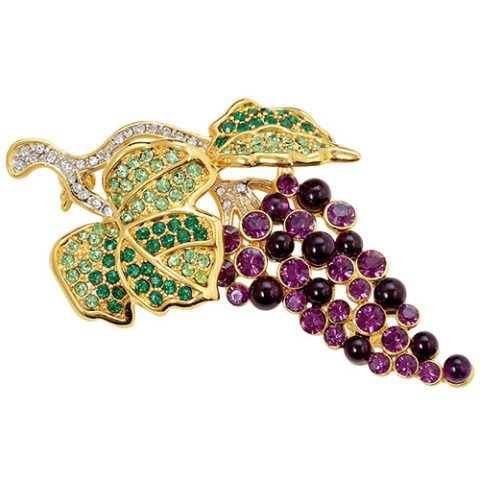 Grape Cluster Pin