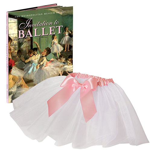 INVITATION TO THE BALLET BOOK AND TUTU