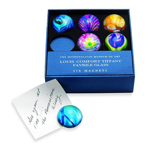 DOMED MAGNETS: LOUIS COMFORT  Tiffany FAVRILE