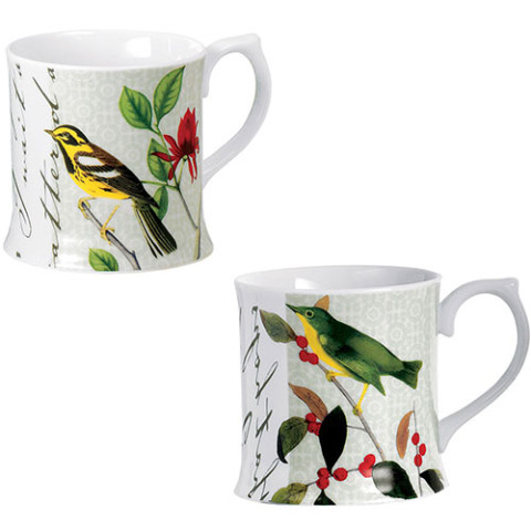 AUDUBON BIRDS MUGS (SET OF 2)