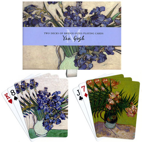 PLAYING CARD SET: VAN GOGH (OLEANDERS AND IRISES)