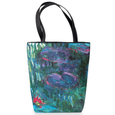 Monet Water Lilies Reversible Tote