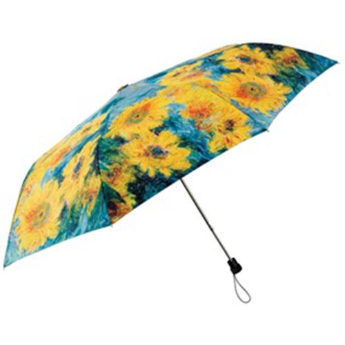 Monet Sunflowers Umbrella